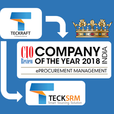 CIO Review (Annual Issue 2018): Teckraft is India Company of the Year for eProcurement Management